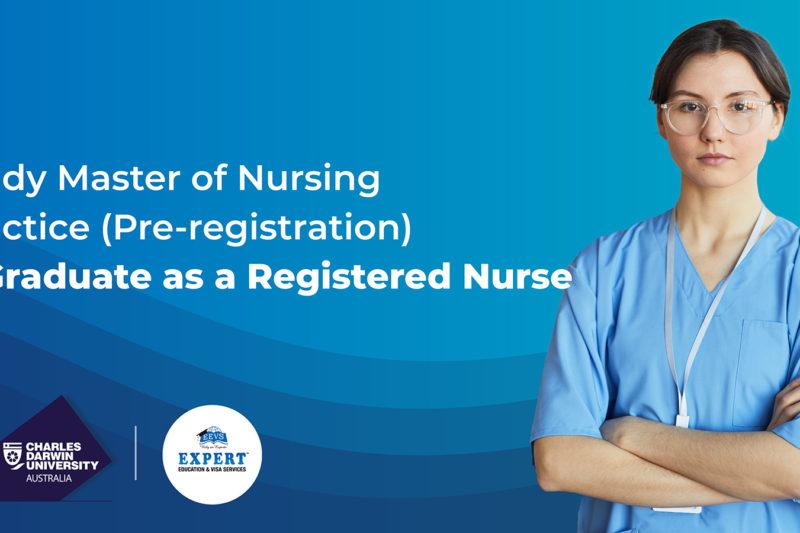 Master of Nursing Practice (Pre-registration) at CDU